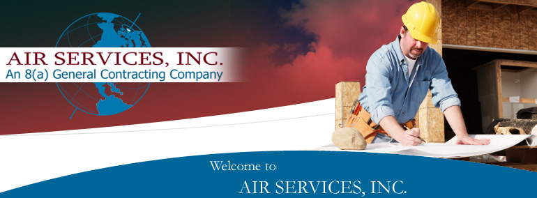 Air Services, Inc Image bar with logo